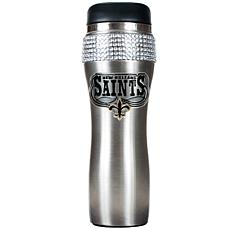 Officially Licensed NFL 14 oz. Travel Tumbler-Saints