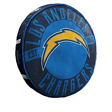 """Officially Licensed NFL 15"""" x 15"""" Round Team Logo Pillow"""