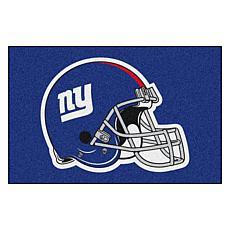 """Officially Licensed NFL 19"""" x 30"""" Helmet Logo Starter Mat - NY Giants"""