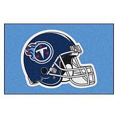 """Officially Licensed NFL 19"""" x 30"""" Helmet Logo Starter Mat - Titans"""