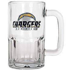 Officially Licensed NFL 20 oz. Root Beer Mug - Chargers