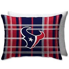 """Officially Licensed NFL 20"""" x 26"""" Plush Bed Pillow - Houston Texans"""
