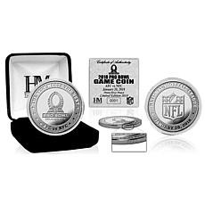 Officially Licensed NFL 2018 NFL Pro Bowl Silver Flip Coin