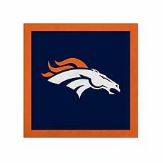 """Officially Licensed NFL 23"""" Felt Wall Banner - Denver Broncos"""
