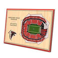 Officially Licensed NFL 3-D Desktop Display - Atlanta Falcons