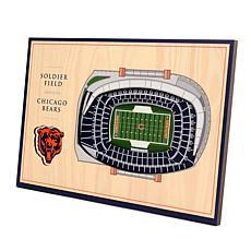 Officially Licensed NFL 3-D Desktop Display - Chicago Bears