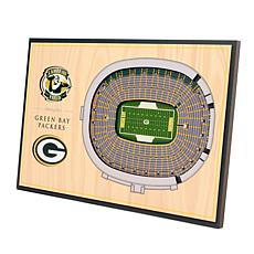 Officially Licensed NFL 3-D Desktop Display - Green Bay Packers