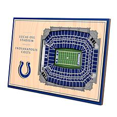 Officially Licensed NFL 3-D Desktop Display - Indianapolis Colts