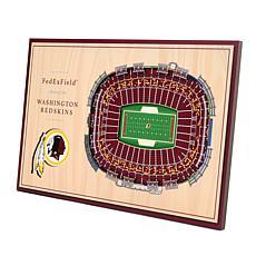 Officially Licensed NFL 3-D Desktop Display - Washington Redskins