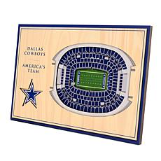 Officially-Licensed NFL 3-D StadiumViews Display - Dallas Cowboys