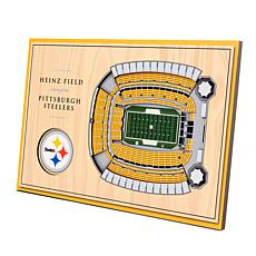 Officially-Licensed NFL 3-D StadiumViews Display - Pittsburgh Steelers