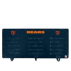 Officially Licensed NFL 3-Hook Metal Coat Rack