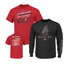 Officially Licensed NFL 3-in-1 T-Shirt Combo by Fanatics ... dd7ac99b8