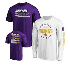 size 40 67e25 682c8 Officially Licensed NFL 3-in-1 T-Shirt Combo by Fanatics