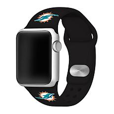 Officially Licensed NFL 38/40mm Apple Watch Band - Miami Dolphins