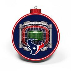 Officially Licensed NFL 3D StadiumView Ornament 2-pack - Houston