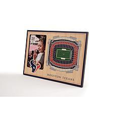 Officially Licensed NFL 3D StadiumViews Frame - Houston Texans