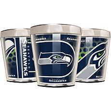 Officially Licensed NFL 3pc Shot Glass Set - Seahawks