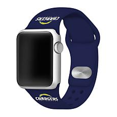 Officially Licensed NFL 42/44mm Apple Watch Band- Los Angeles Chargers