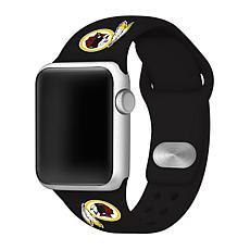 Officially Licensed NFL 42/44mm Apple Watch Sport Band - WA Redskins