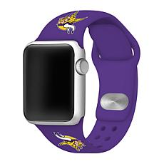 Officially Licensed NFL 42/44mm Purple Apple Watch Band - MN Vikings