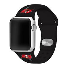 Officially Licensed NFL 42mm/44mm Apple Watch Med. Band - Buccaneers