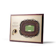 Officially Licensed NFL 5-Layer 3-D Wall Art - Washington Redskins