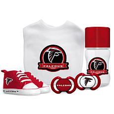 Officially Licensed NFL 5-piece Baby Gift Set - Atlanta Falcons
