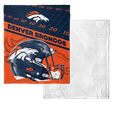"Officially Licensed NFL 50"" x 60"" Soft Sherpa Throw"