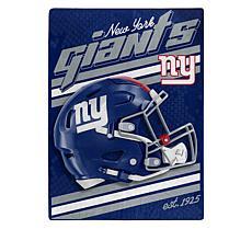 "Officially Licensed NFL 60"" x 80"" Raschel Throw"