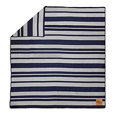 Officially Licensed NFL Acrylic Stripe Throw Blanket - Denver Broncos