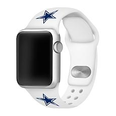 Officially Licensed NFL Apple Watch Sport Band 42/44mm - Cowboys