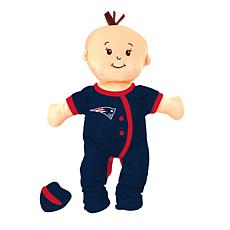 Officially Licensed NFL Baby Fanatic Wee Baby Doll - New England