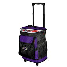 Officially Licensed NFL Baltimore Ravens Rolling Cooler