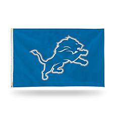 Officially Licensed NFL Banner Flag - Lions