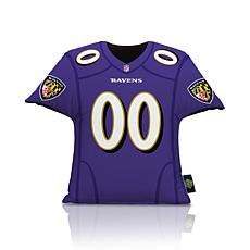 Officially Licensed NFL Big League Jersey Pillow - Baltimore Ravens
