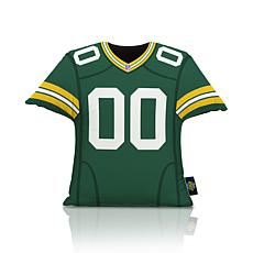Officially Licensed NFL Big League Jersey Pillow - Green Bay Packers