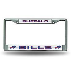 Officially Licensed NFL Bling Chrome Frame - Bills