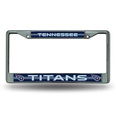 Officially Licensed NFL Bling Chrome Frame - Titans