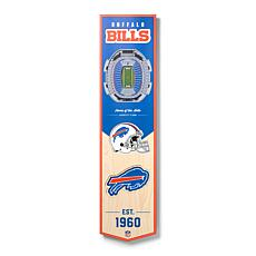 Officially Licensed NFL Buffalo Bills 3D Stadium Banner