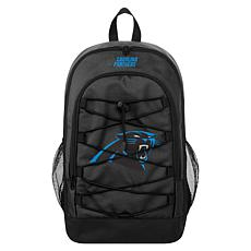 Officially Licensed NFL Bungee Backpack - Carolina Panthers