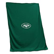Officially Licensed NFL by Logo Chair Sweatshirt Blanket - Jets