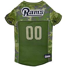 Officially Licensed NFL Camo Jersey - Los Angeles Rams