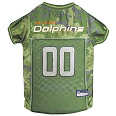 Officially Licensed NFL Camo Jersey - Miami Dolphins