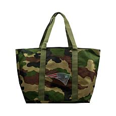 Officially Licensed NFL Camo Tote - Patriots