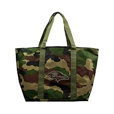 Officially Licensed NFL Camo Tote - Ravens