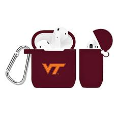 Officially Licensed NFL Case to AirPod Case - VA Tech Hokies - Maroon