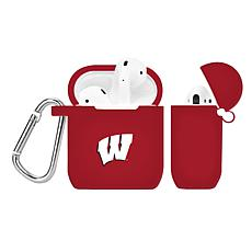 Officially Licensed NFL Case to AirPod Case - Wisconsin Badgers - Red