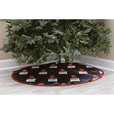 Officially Licensed NFL Christmas Tree Skirt - Cleveland Browns