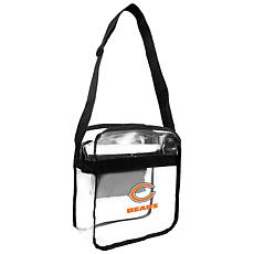 Officially Licensed NFL Clear Carryall Crossbody - Bears